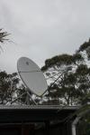 Satelite on the roof