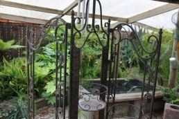 Inside the fernery 20
