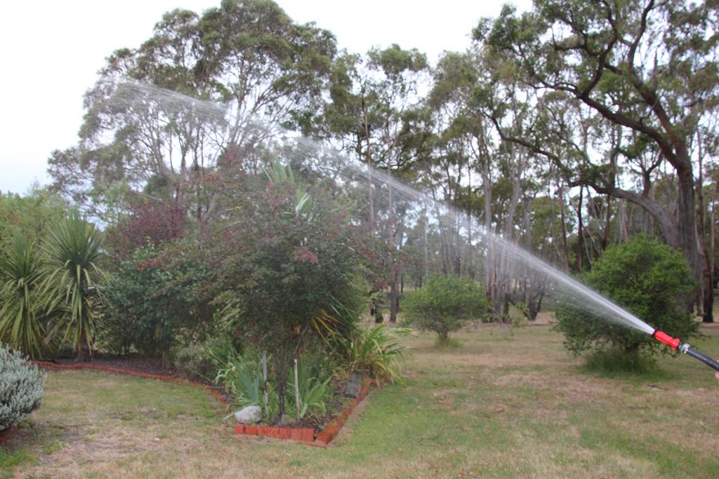 The fire hose.