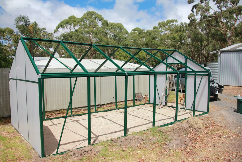 Greenhouse construction