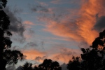 Stormy Night Sunset